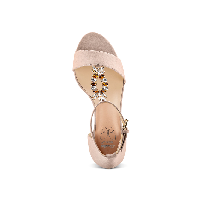 Women's shoes insolia, Beige, 769-0154 - 17