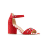 Women's shoes insolia, Rouge, 769-5245 - 13