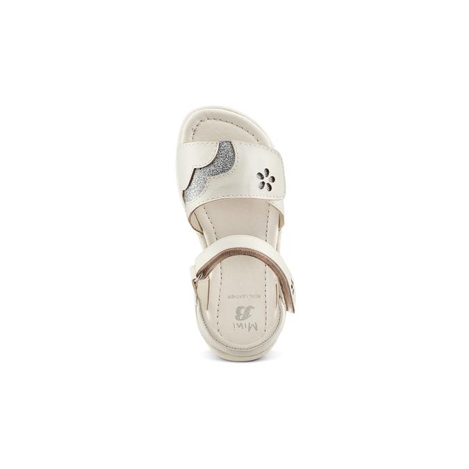 Childrens shoes mini-b, Blanc, 261-1144 - 17