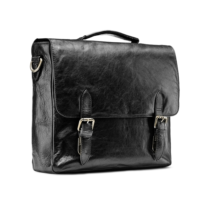 Bag bata, Noir, 964-6255 - 13