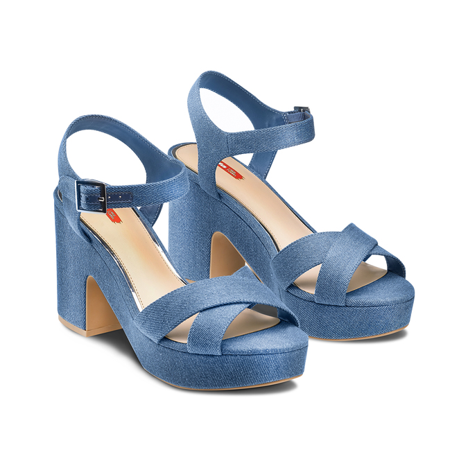 Women's shoes bata-rl, Bleu, 769-9328 - 16