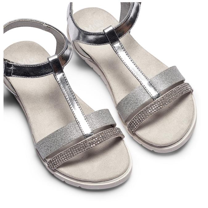 Childrens shoes mini-b, Blanc, 361-1171 - 26