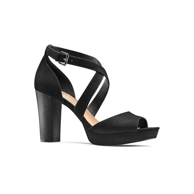 Women's shoes insolia, Noir, 769-6263 - 13