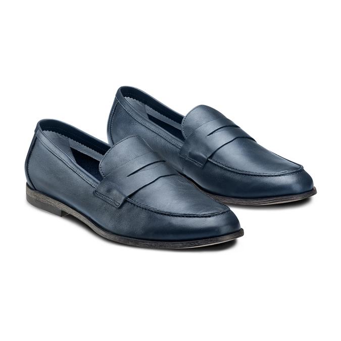 Men's Shoes bata, Violet, 854-9129 - 16