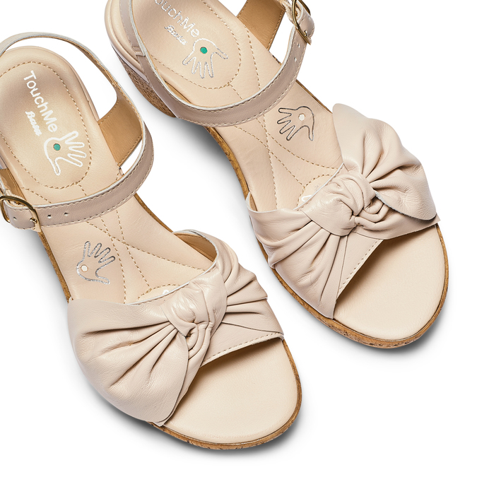 Women's shoes bata-touch-me, Gris, 664-2302 - 26
