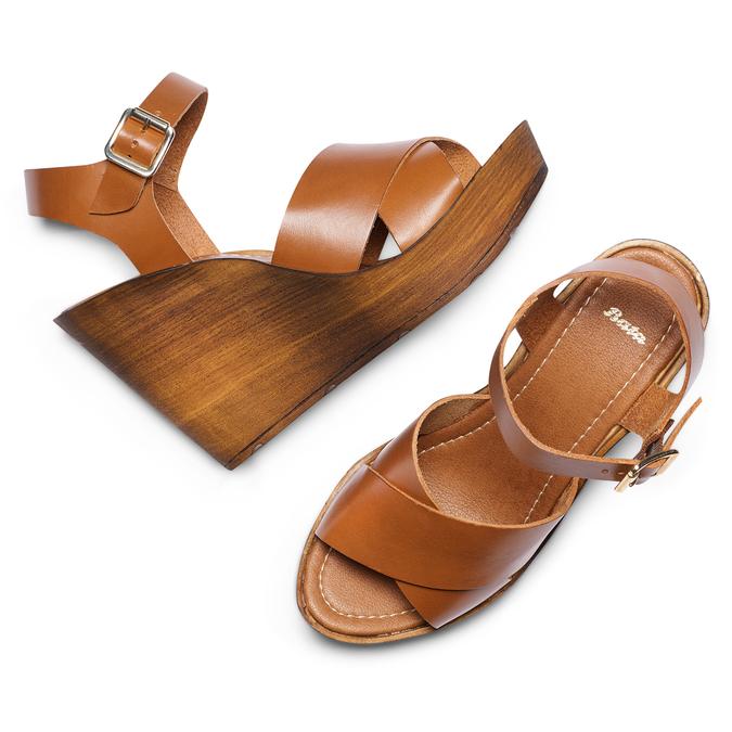 BATA Chaussures Femme bata, Brun, 764-3226 - 26