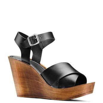 Women's shoes bata, Noir, 764-6226 - 13