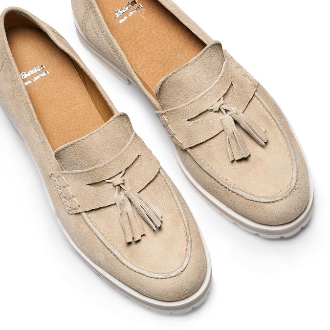 Women's shoes bata, Jaune, 513-8182 - 26