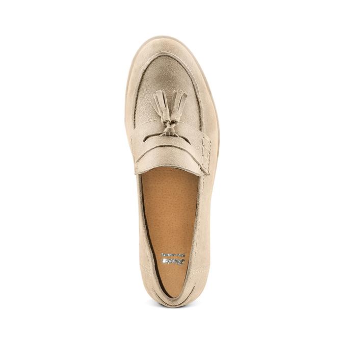 Women's shoes bata, Jaune, 513-8182 - 17