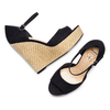 Women's shoes insolia, Noir, 769-6645 - 26