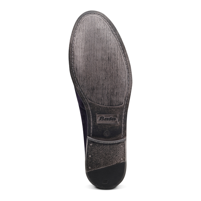 Men's shoes bata, Bleu, 853-9129 - 19