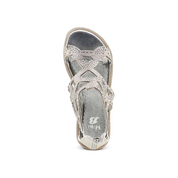 Childrens shoes mini-b, Argent, 363-1247 - 17