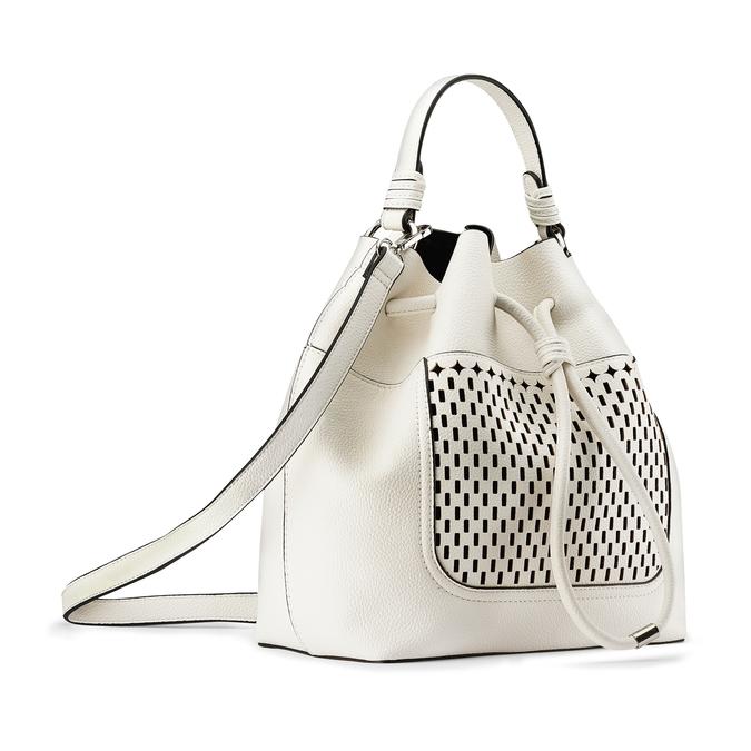 Bag bata, Blanc, 961-1298 - 13