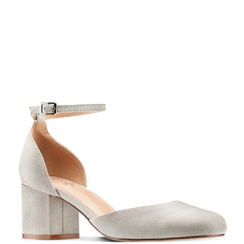 Women's shoes insolia, Gris, 729-2208 - 13