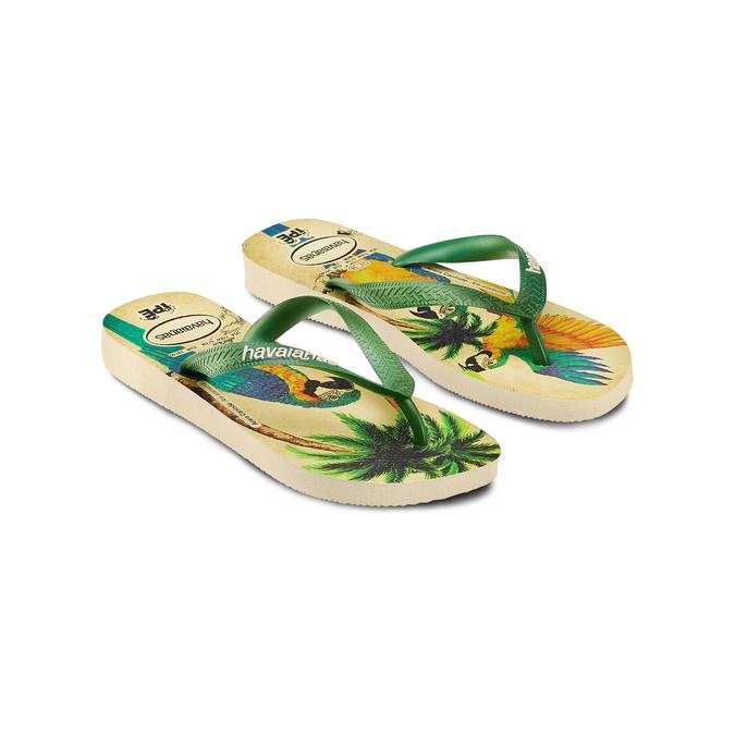 Women's shoes havaianas, Vert, 572-7456 - 16
