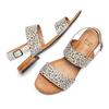 Women's shoes bata, Gris, 569-2256 - 26