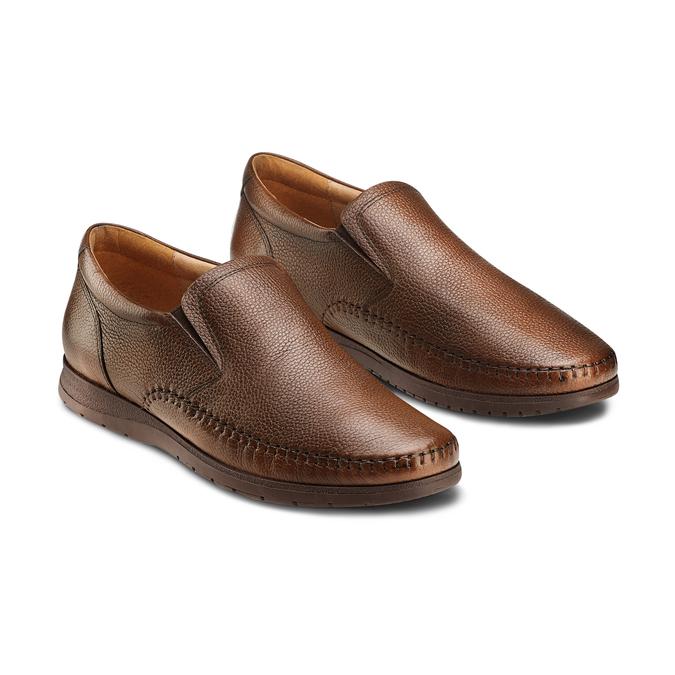 Men's shoes, Brun, 854-4118 - 16