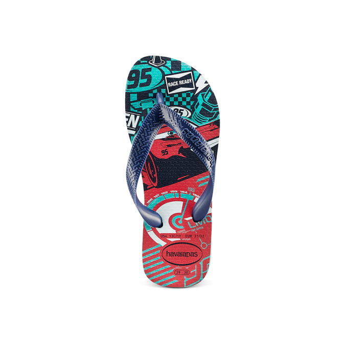 Childrens shoes havaianas, Bleu, 372-9228 - 17