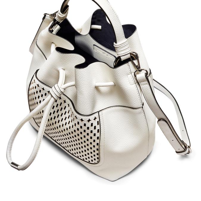 Bag bata, Blanc, 961-1298 - 17