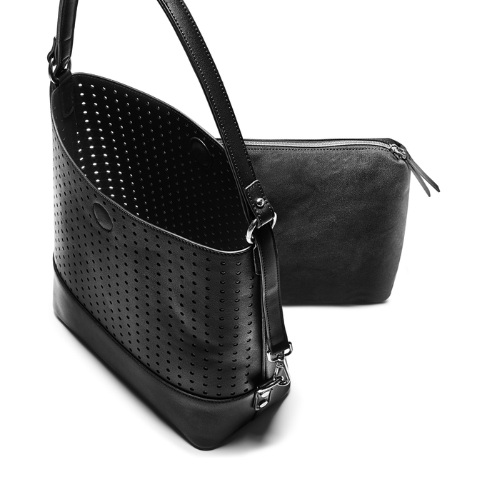 Bag bata, Noir, 961-6293 - 17