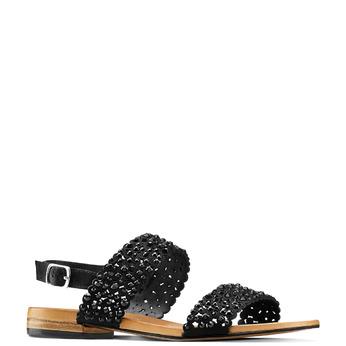 Women's shoes bata, Noir, 569-6256 - 13