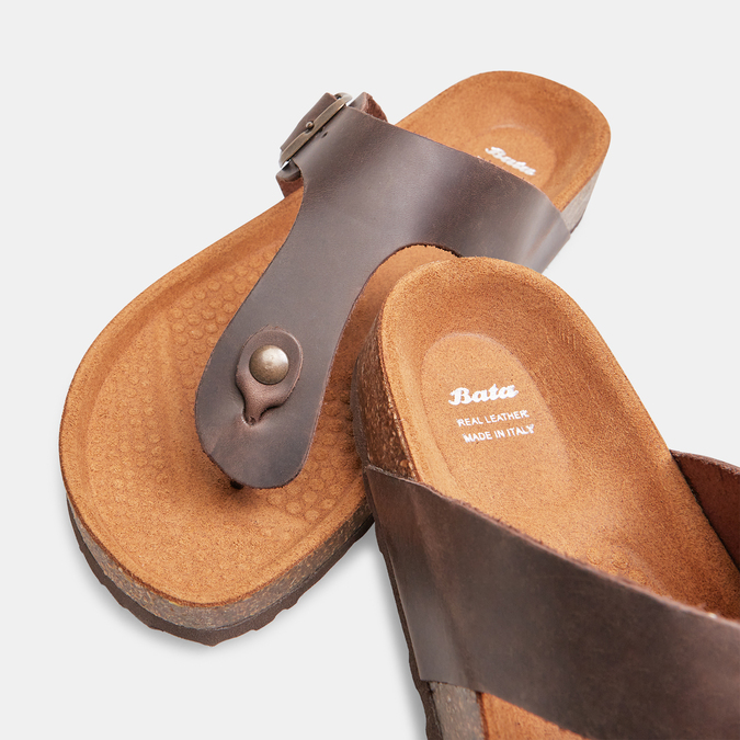 BATA Chaussures Homme bata, Brun, 866-4239 - 17