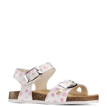 Childrens shoes mini-b, Blanc, 261-1212 - 13