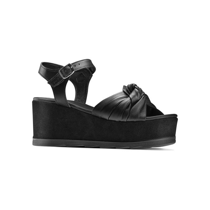 Women's shoes bata, Noir, 764-6271 - 13