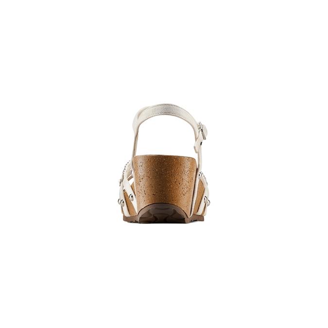 Women's shoes bata, Blanc, 669-1359 - 15