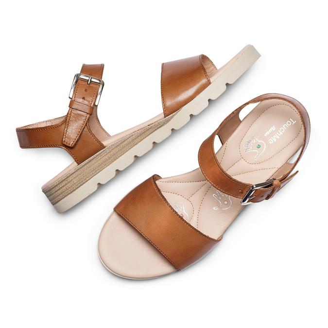 Women's shoes bata-touch-me, Brun, 664-3298 - 26