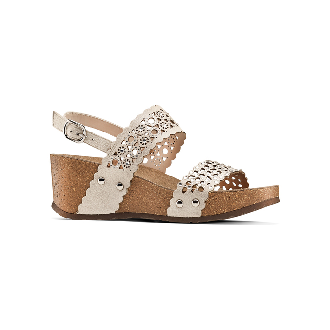 BATA Chaussures Femme bata, Jaune, 669-8356 - 13