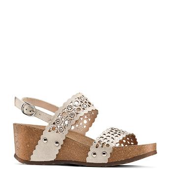 Women's shoes bata, Jaune, 669-8356 - 13