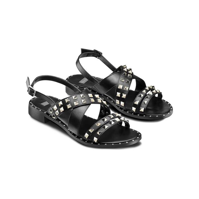 Women's shoes bata, Noir, 561-6245 - 16