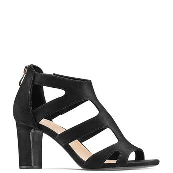 Women's shoes insolia, Noir, 729-6165 - 13