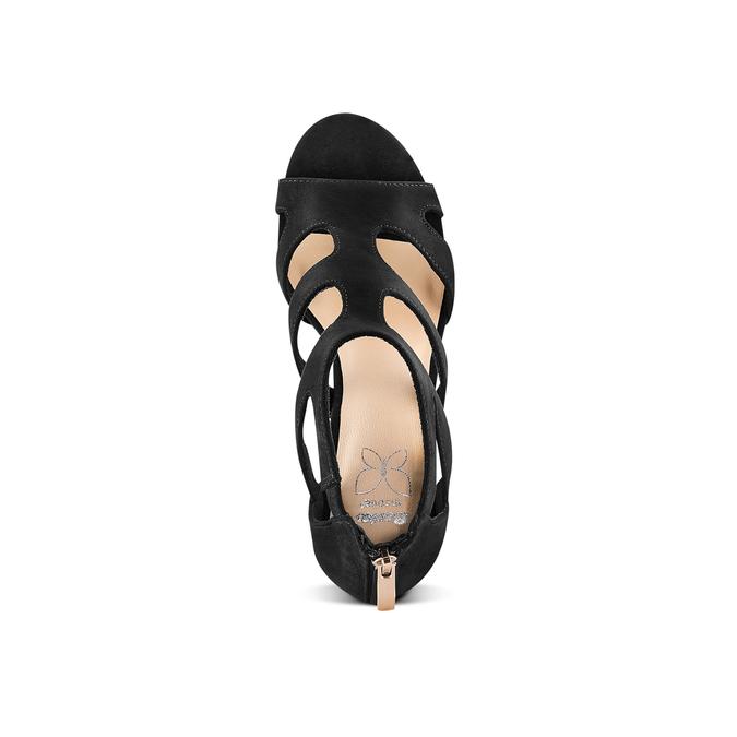 Women's shoes insolia, Noir, 729-6165 - 17