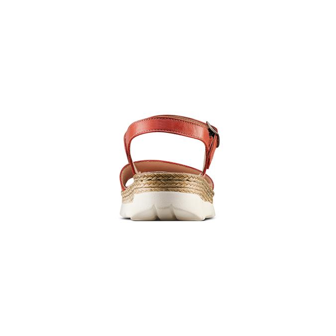 Women's shoes bata, Rouge, 564-5125 - 15