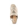 Women's shoes bata, Jaune, 764-8218 - 17