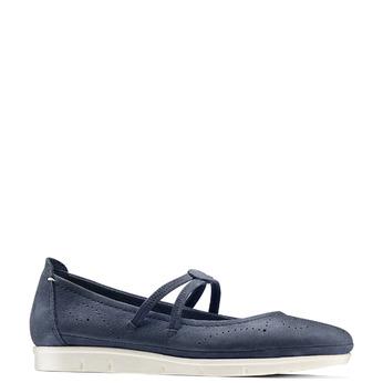 Women's shoes bata, Violet, 523-9213 - 13