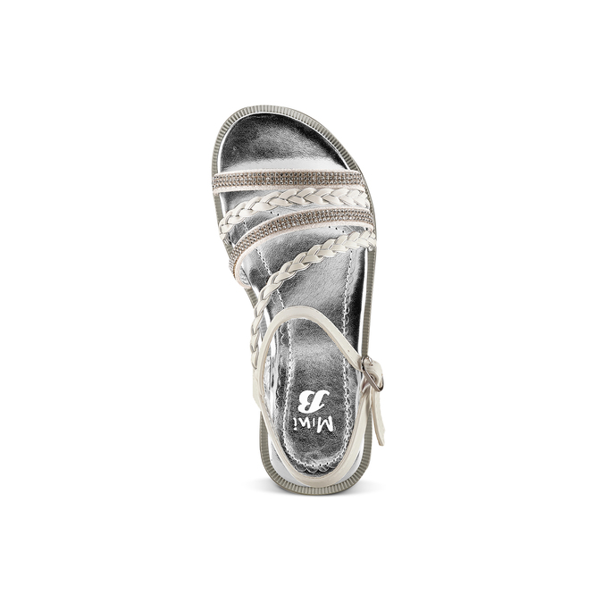 Childrens shoes mini-b, Blanc, 361-1197 - 17