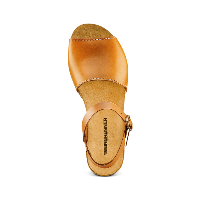 Women's shoes weinbrenner, Brun, 564-3161 - 17