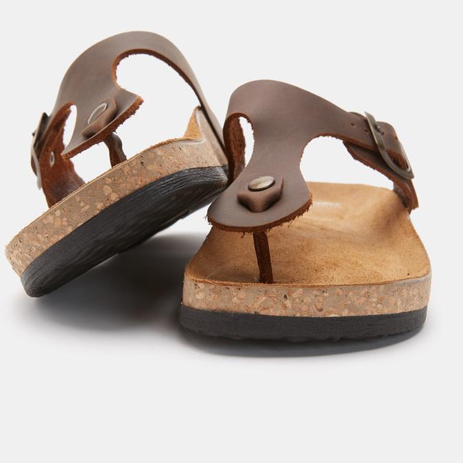 Women's shoes bata, Brun, 574-4477 - 19