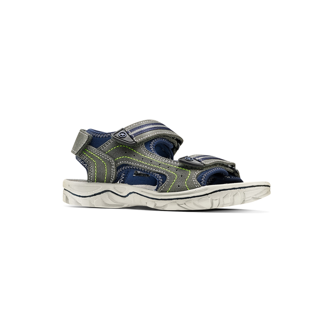 Childrens shoes weinbrenner-junior, Gris, 463-2102 - 13