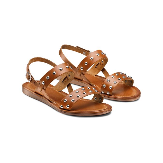 Women's shoes bata, Brun, 564-3210 - 16