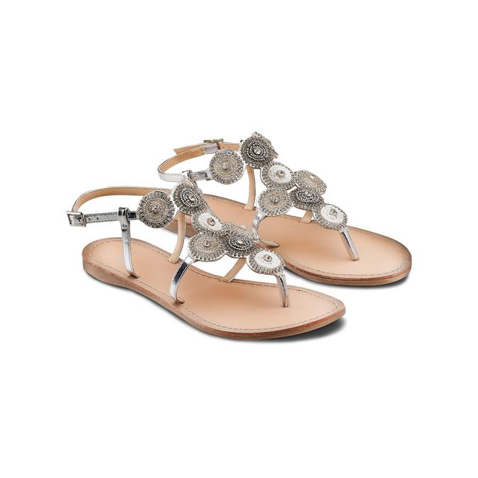 Women's shoes bata, Blanc, 561-1541 - 16
