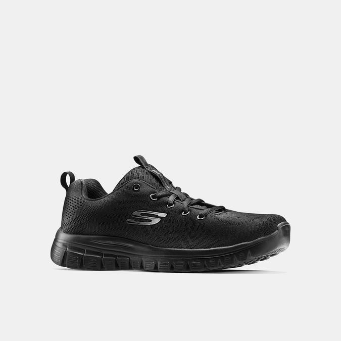 Chaussures Femme skechers, Noir, 509-6318 - 13