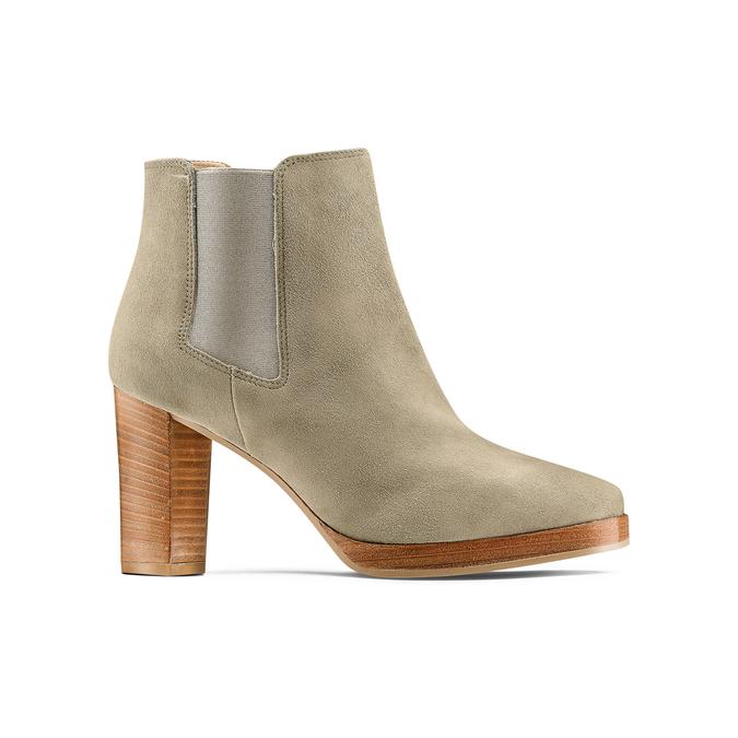 Women's shoes bata, Vert, 793-7248 - 13