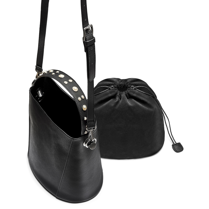 Bag bata, Noir, 961-6499 - 17
