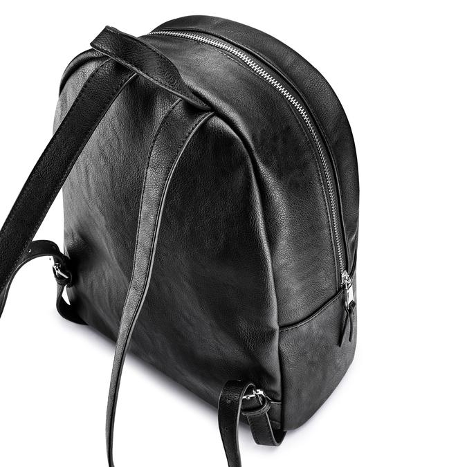 Backpack bata, Noir, 961-6496 - 17