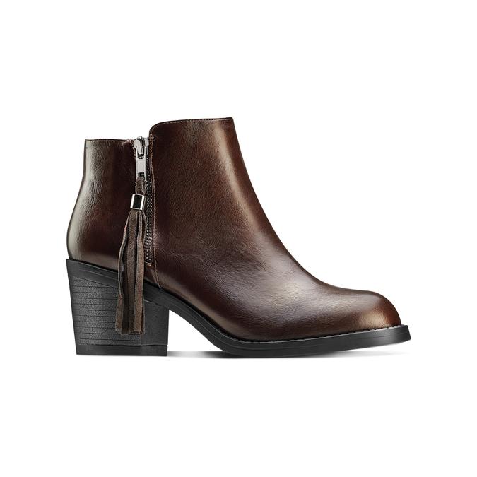 Women's shoes bata, Brun, 691-4220 - 13