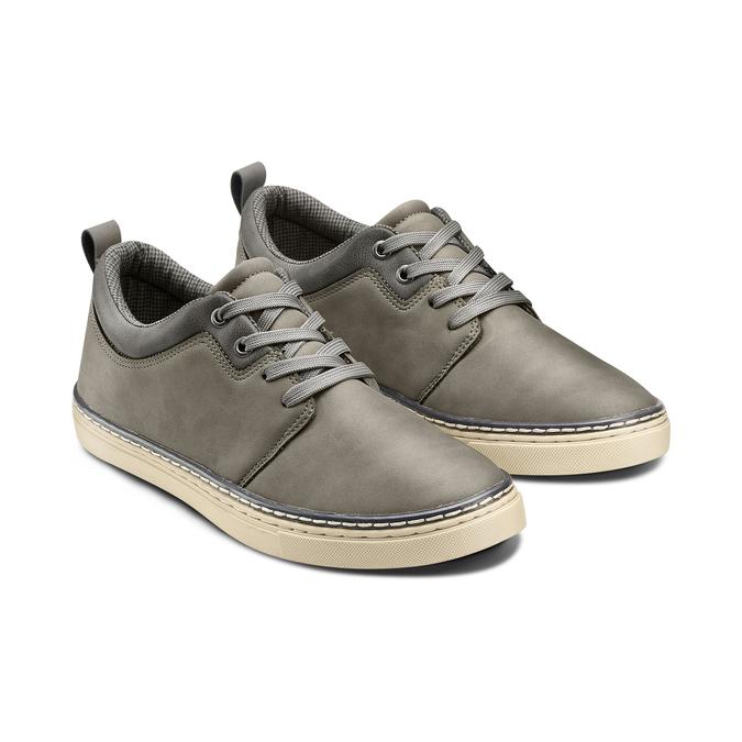 Men's shoes bata, Gris, 841-2495 - 16